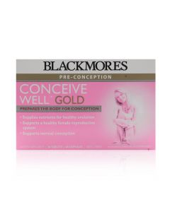 BLACKMORES CONCEIVE WELL GOLD 27's