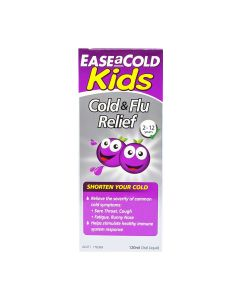 Ease-A-Cold Kids Cold & Flu Relief 120ml_front